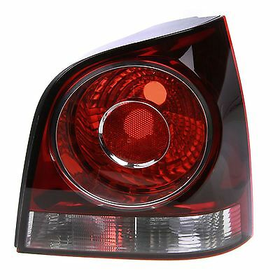 Volkswagen Polo Mk4 6/2005-3/2010 Rear Tail Light Drivers Side O/s