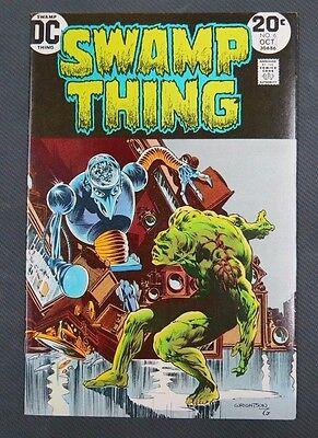 Swamp Thing # 6 VF/NM 9.0 Or Better DC