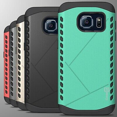 For Samsung Galaxy S7 Case - Slim Grip Armor Hybrid Protective Hard Phone Cover