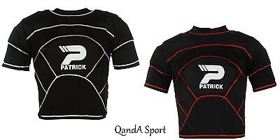 Mens & Boys World Rugby Union Approved Protective Shoulder Pad/Body Armour