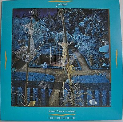 Jon Hassell Dream Theory In Malaya Fourth World Volume Two Japan LP 1981 Insert