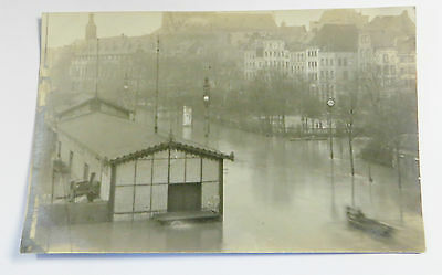 e Wonderful Early Real Photo Postcard Flood Disaster In Europe