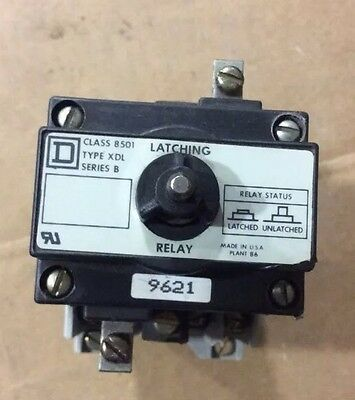 Square D Control Relay 8501 XD0 40 MB Latching Relay 9998 XDL58B