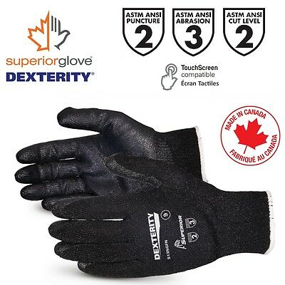 Superior Dexterity S13Ngfn High Abrasion / Cut-Resitant Glove With Nitrile Palm