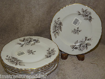 Syracuse China USA made Graymont 8 Bread Butter Plates Floral