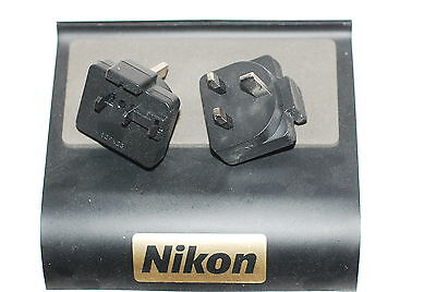 Genuine Nikon 3-Pin UK PLUG Adapter for Charger MH-24 (For EN-EL14 Battery)