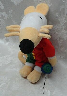 """Commonwealth 1999 Maisy Yoyo 12"""" Mouse Clown Suit Lucy Cousin Stuffed Plush Doll"""