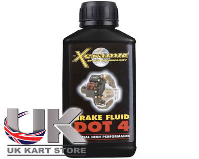 Xeramic DOT 4 Liquido Freni 250ml UK KART STORE