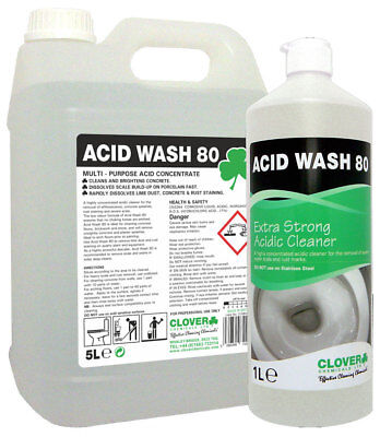 Acid Wash 80 Concentrated Cleaner