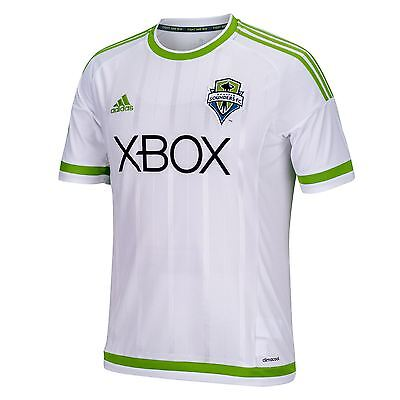 adidas Mens Gents Football Seattle Sounders Away Shirt 2015/2016 Jersey