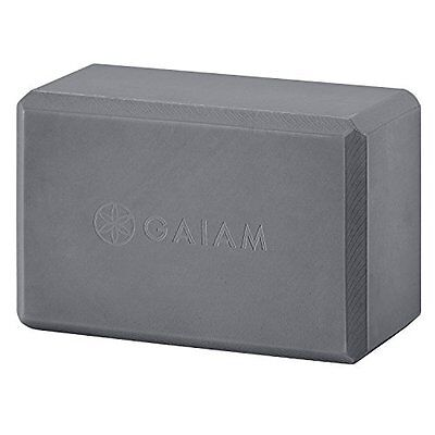 Gaiam Yoga Block, Storm Gray