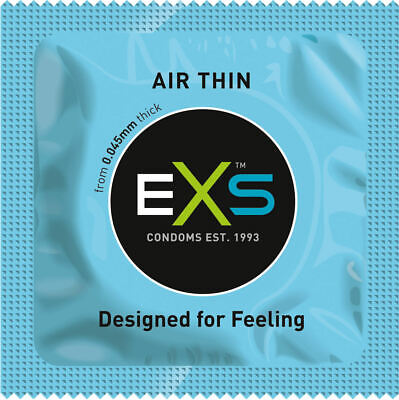 EXS Air Thin Condoms - Available in 6, 12, 24, 36, 48 or 100 packs