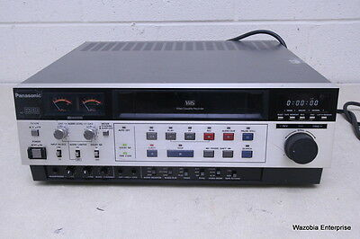 Panasonic Ag-6300 Vhs Video Cassette Recorder