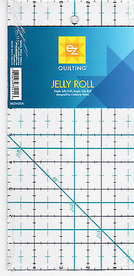 "EZ Quilting Jelly Roll Ruler - 5"" x 10"""