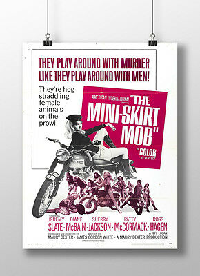 The Mini Skirt Mob Poster All Sizes New : # : 136470