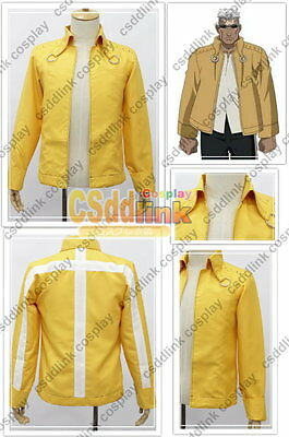 Fullmetal Alchemist Scar cosplay costume only jacket yellow