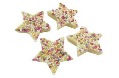* White Chocolate Stars Snowies Wholesale Christmas Wedding RETRO SWEETS