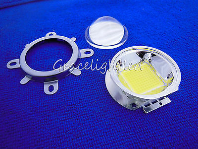44mm Lens + Reflector Collimator + Fixed bracket F20W 30W 50W 70W 100W LED Chip