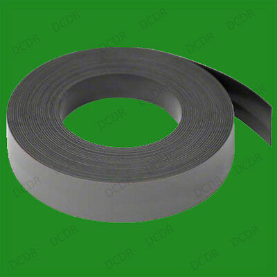 3m x 18mm Magnetic Self Adhesive Fixing Tape, Strip, Metres, Craft Fridge Magnet