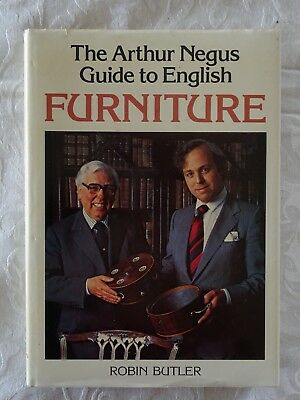 The Arthur Negus Guide to English Furniture by Robin Butler - HCDJ - 1978 - VG