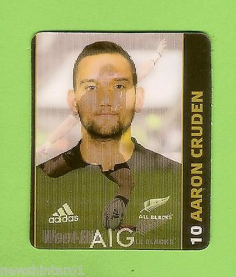 #cc5.  Aaron  Cruden  Weetbix  New  Zealand Junior Rugby Union Camp  Hologram