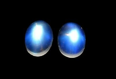 Moonstone - Blue Sheen - Oval Cab - 0.50 Carats - Natural and Untreated
