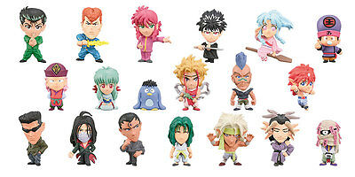Charazo Yu Yu Hakusho Yuyu Mini Big Head Anime Figure