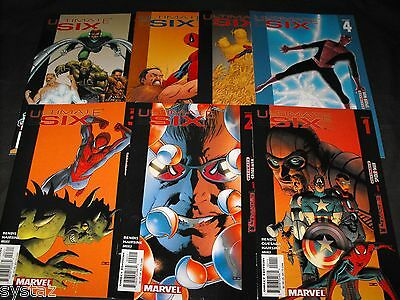 Ultimate Spider-Man Ultimates Six 1-7 Comic Run Set 1 2 3 4 5 6 7 Total