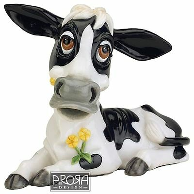 Little Paws Buttercup the Cow Figurine NEW in Gift Box