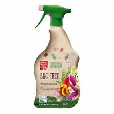 Bug Free Organic Insecticide Bayer Garden RTU 1 Litre