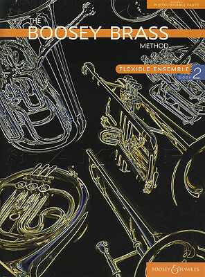 Boosey Method Flexible Brass Ensemble 2 Sheet Music Book Score & Parts