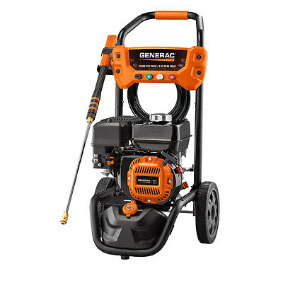 Generac Residential 2800psi Pressure Washer (old #6596) 6922 New