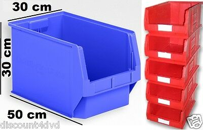 EXTRA LARGE Stackable Plastic Storage Parts Picking Bins Boxes Garage Workshop