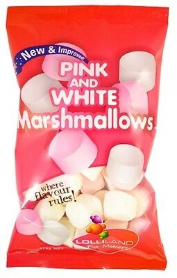 Pink and White Marshmallows 175g