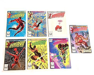 Marvel Comics 1980's Daredevil lot, Frank Miller & Klaus janson issues, Elektra