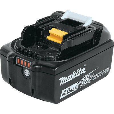 Makita Genuine 18V LXT Lithium-Ion Battery Pack 4.0A BL1840B New