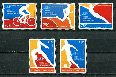 Argentina 1995 Pan American Games - Swimming - Cycling - Soccer Complete Set!