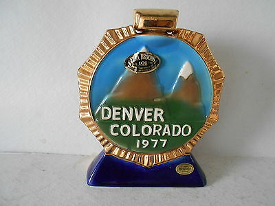 1977 Ezra Brooks American Legion Decanter - Denver Colorado