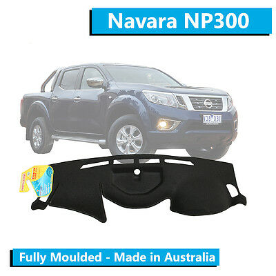 TO FIT: Nissan Navara NP300 (2014-Current) - Dash Mat - Black - Moulded
