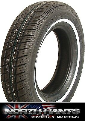 18513 185/80R13 185R13 MAXXIS WHITEWALL TYRE 185-80-13 Ford Vauxhall Austin