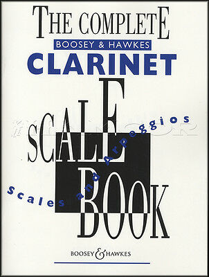 Boosey & Hawkes The Complete Clarinet Scale Book Sheet Music Book