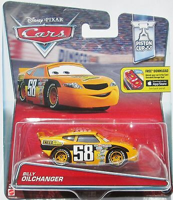Voiture Disney Pixar Cars Billy Oilchanger Octane Gain 58