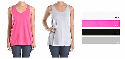 Sofra Casual Running Gym Racerback Shirt Ribbed 100/% Cotton Tank Top S//M//L