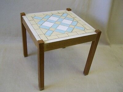 DDR Tiles Flower stool, bench, Iconic Design 1960s 1970s Years stand