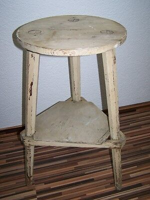 Old Wood Stool, Vintage Retro Design Iconic Chair, Wooden Stool Wooden Chair • £84.40
