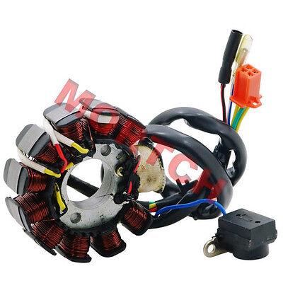 GY6 125cc 150cc 11 Pole Stator Magneto For 4 Stroke Scooter Motorcycle Moped