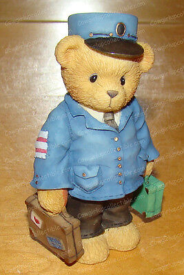 CT103 - Lloyd (Cherished Teddies) 1996 (Charter Member Symbol of Membership)