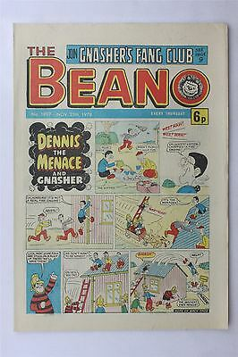 The Beano #1897 Nov 25th 1978 FN Vintage Comic Bronze Age Dennis The Menace