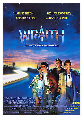 The Wraith (1986) - A1/A2 POSTER **BUY ANY 2 AND GET 1 FREE OFFER**