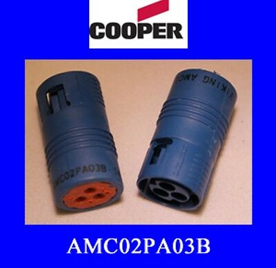 AMC02PA03B (100pcs) - Cooper Interconnect AMC Connector Series